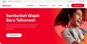 Website Baru Telkomsel